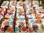 花纹纸巾盒子